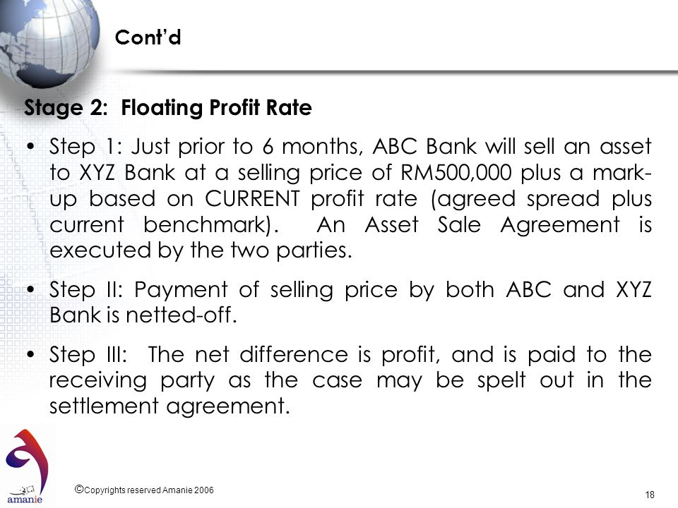 Stage 2: Floating Profit Rate