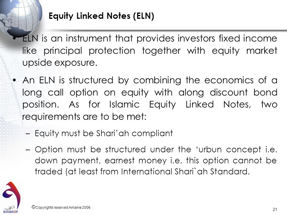 Equity Linked Notes (ELN)
