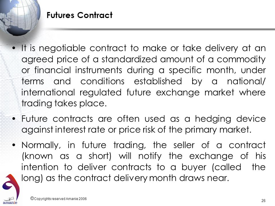 Futures Contract