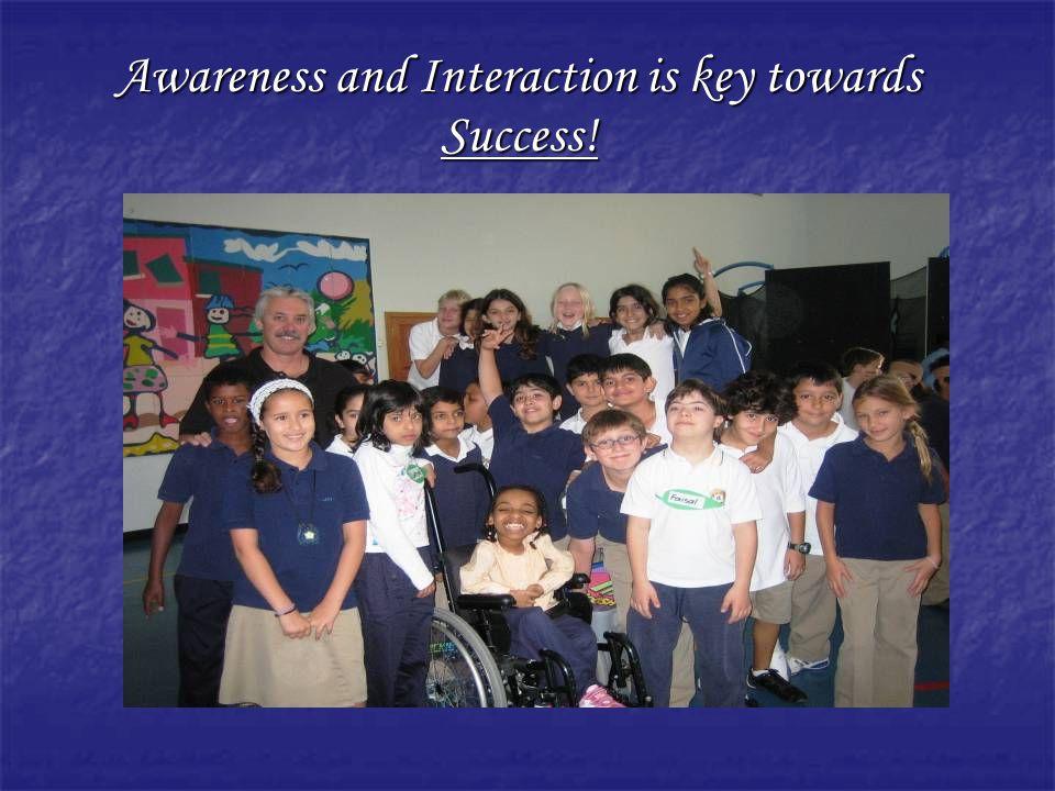 Awareness and Interaction is key towards Success!