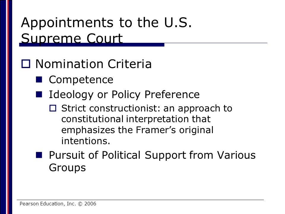Appointments to the U.S. Supreme Court