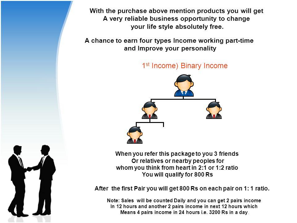 C 1st Income) Binary Income