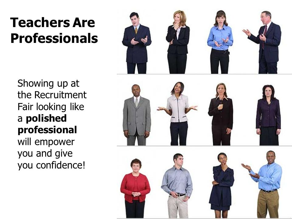 Teachers Are Professionals