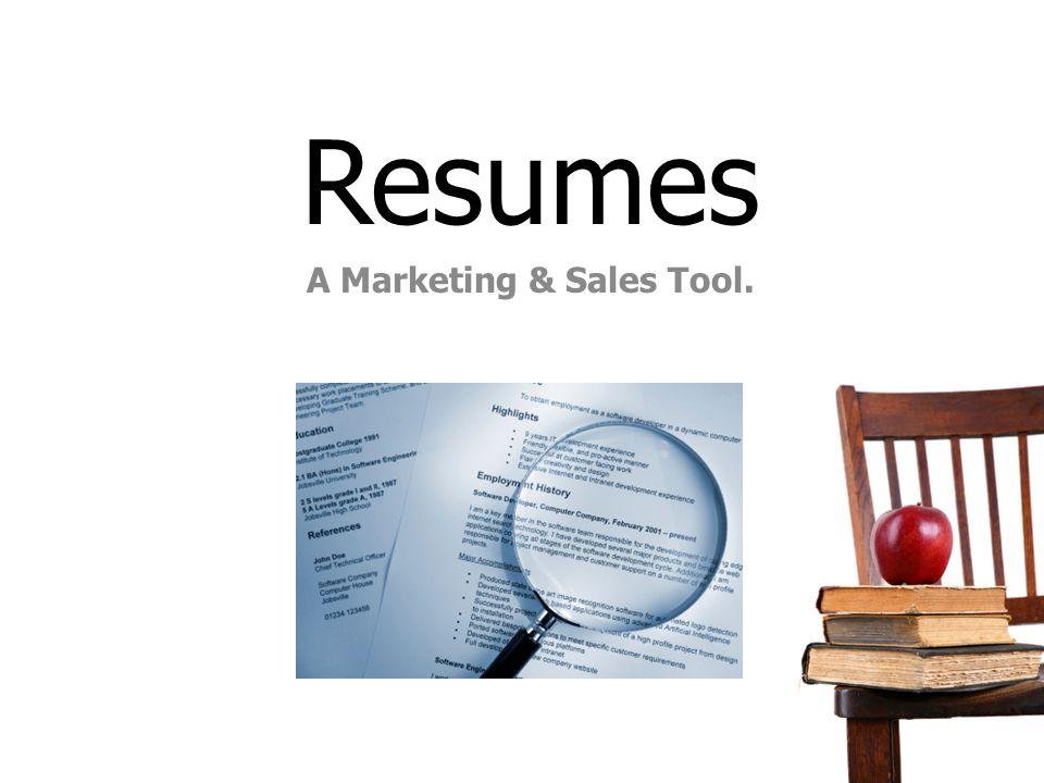 A Marketing & Sales Tool.
