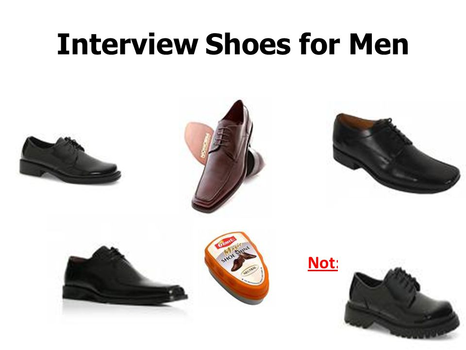 Interview Shoes for Men
