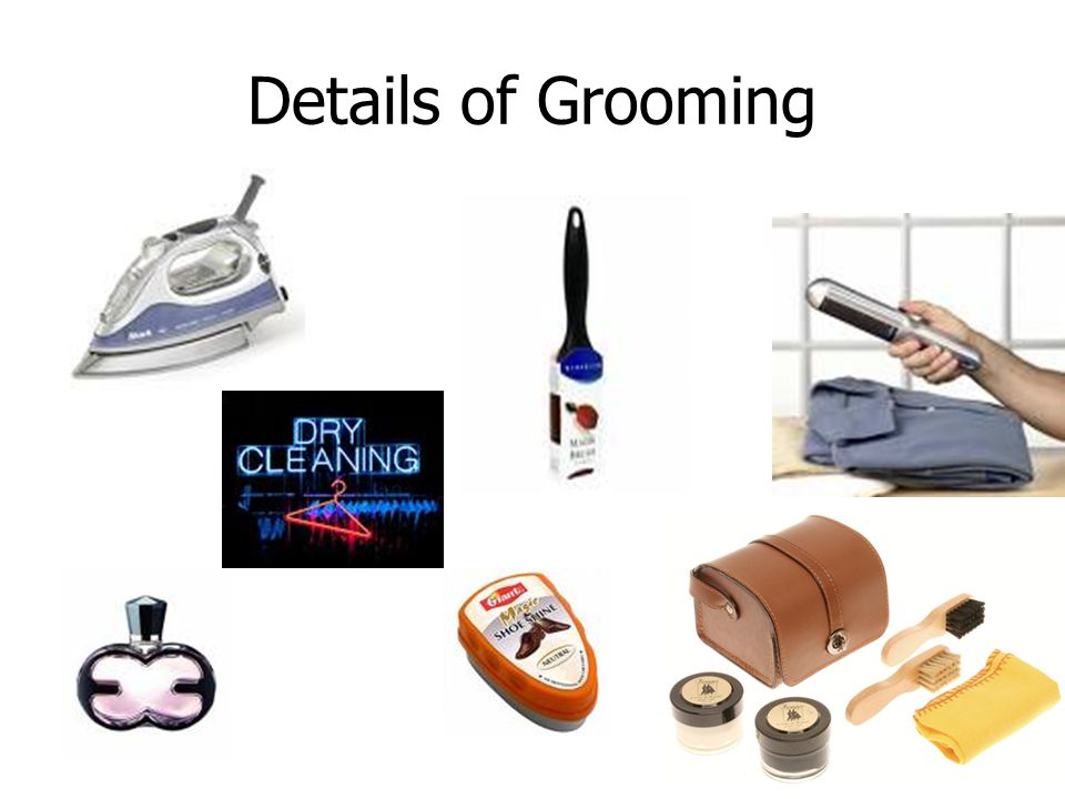 Details of Grooming Polish your shoes!