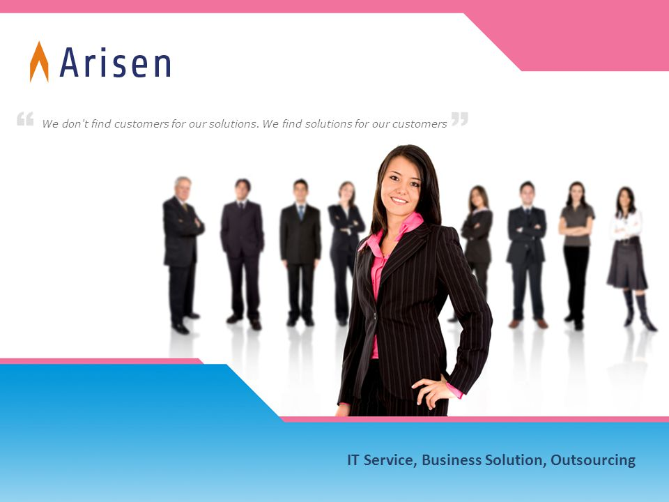 IT Service, Business Solution, Outsourcing