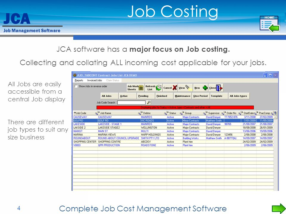 Job Costing Complete Job Cost Management Software