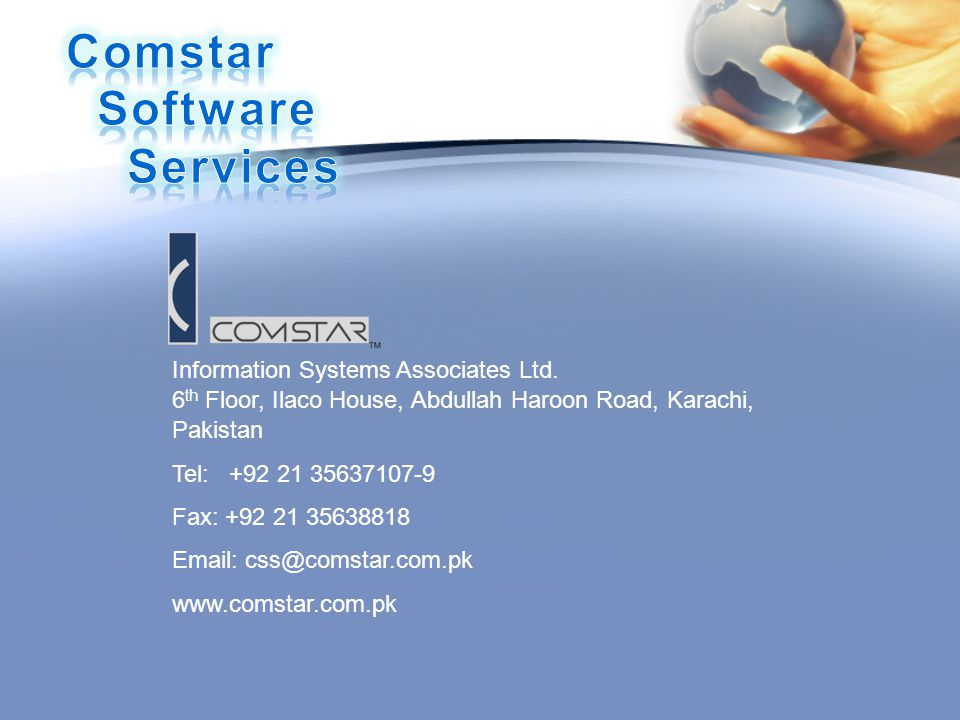 Comstar Software Services
