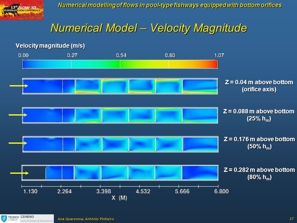 Numerical Model – Velocity Magnitude