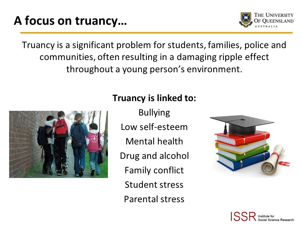 A focus on truancy…
