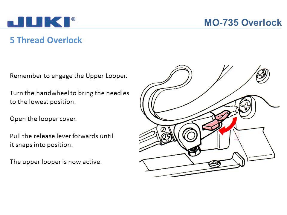 MO-735 Overlock 5 Thread Overlock
