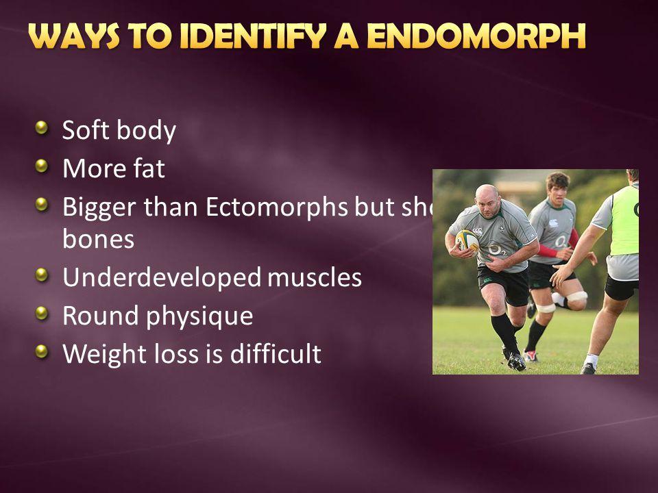 WAYS TO IDENTIFY A ENDOMORPH