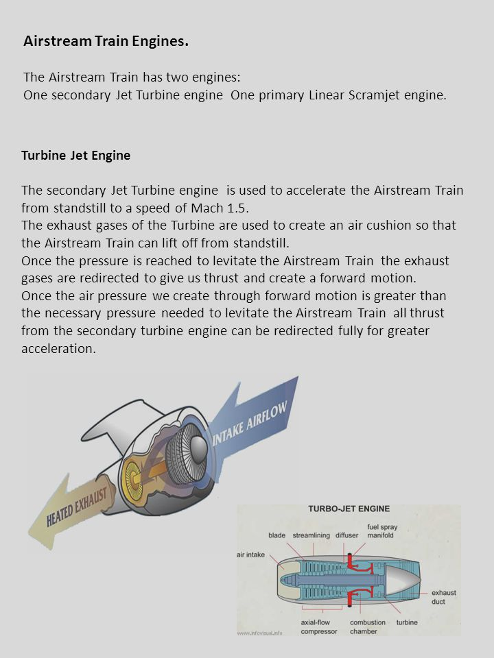 Airstream Train Engines.