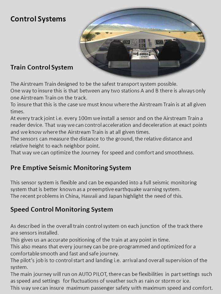 Control Systems Train Control System