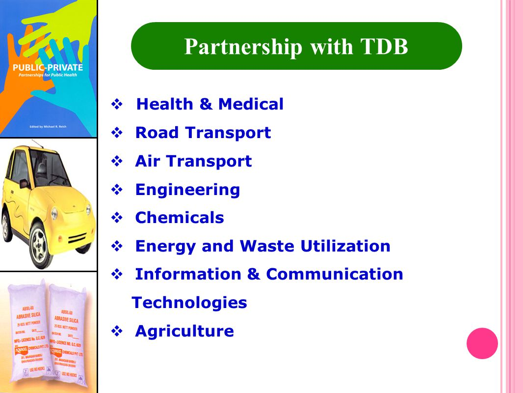 Partnership with TDB Health & Medical Road Transport Air Transport