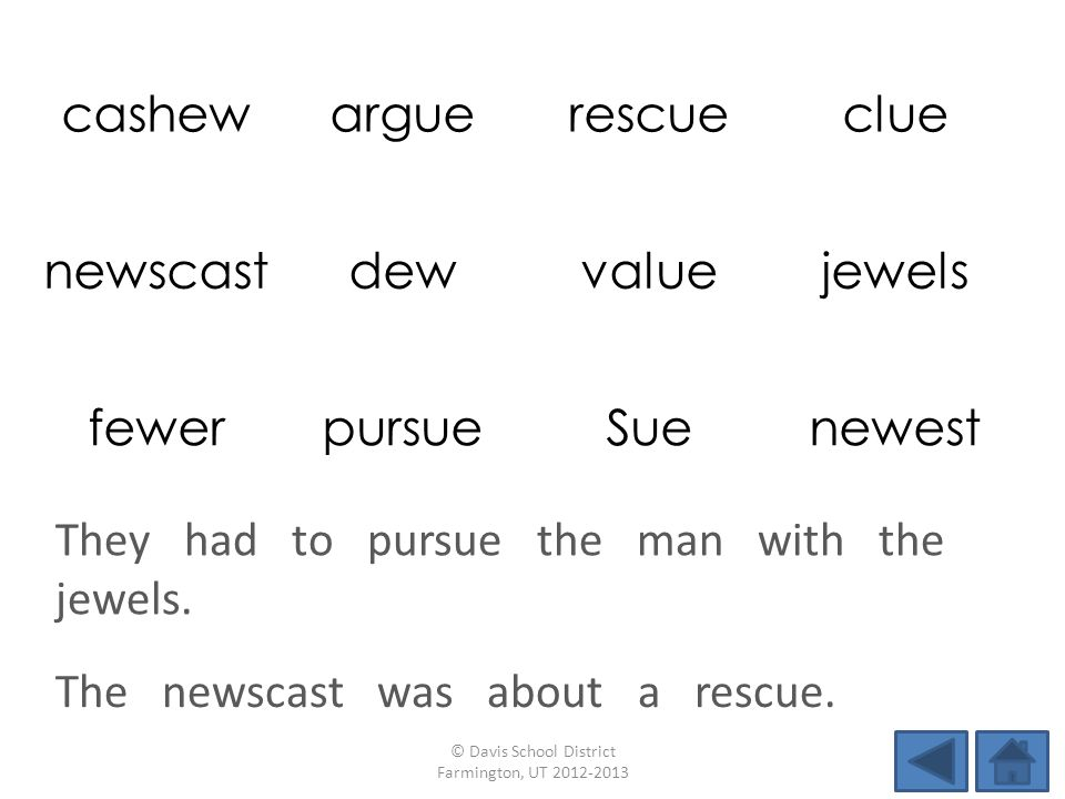 The newscast was about a rescue.