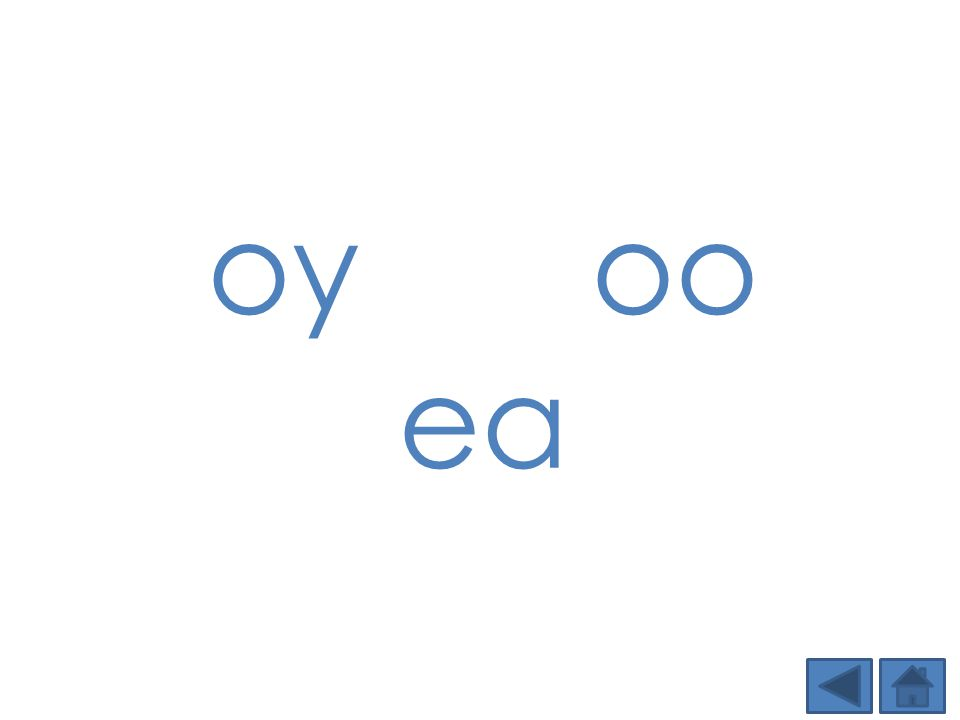 oy oo ea. Step 1: Show students the DSD targeted phonics element(s) of the day and tell students the sound.