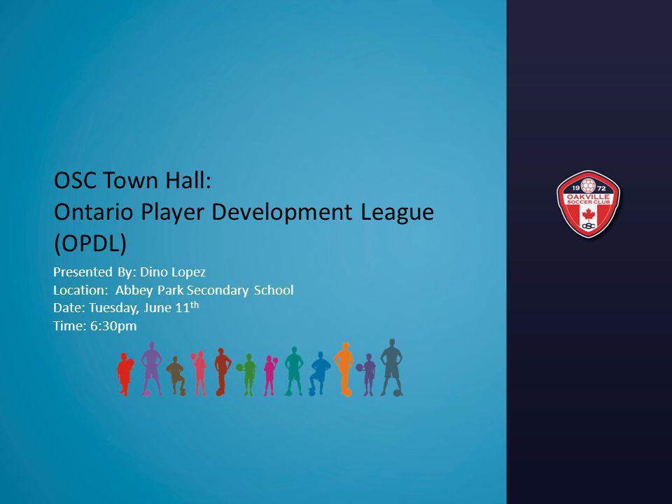 Ontario Player Development League (OPDL)