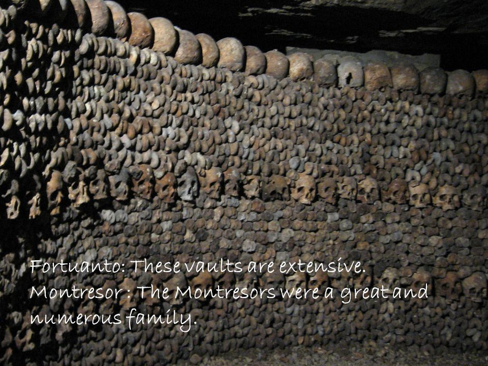 Fortuanto: These vaults are extensive.