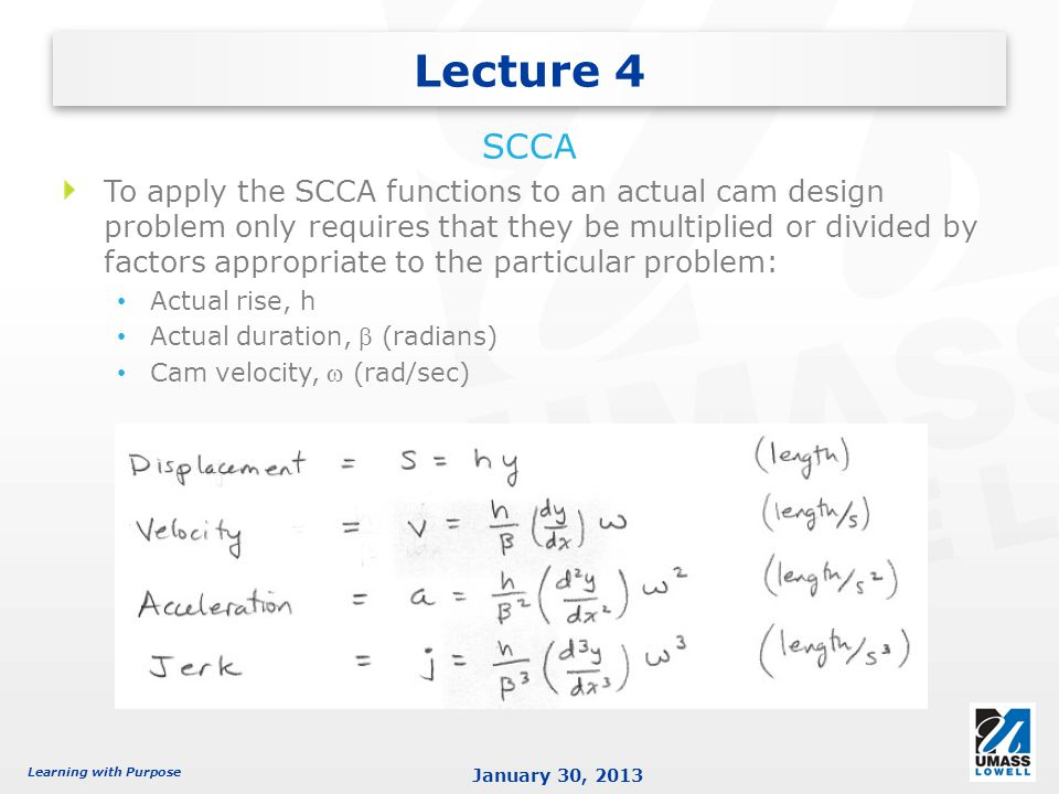 Lecture 4 SCCA.