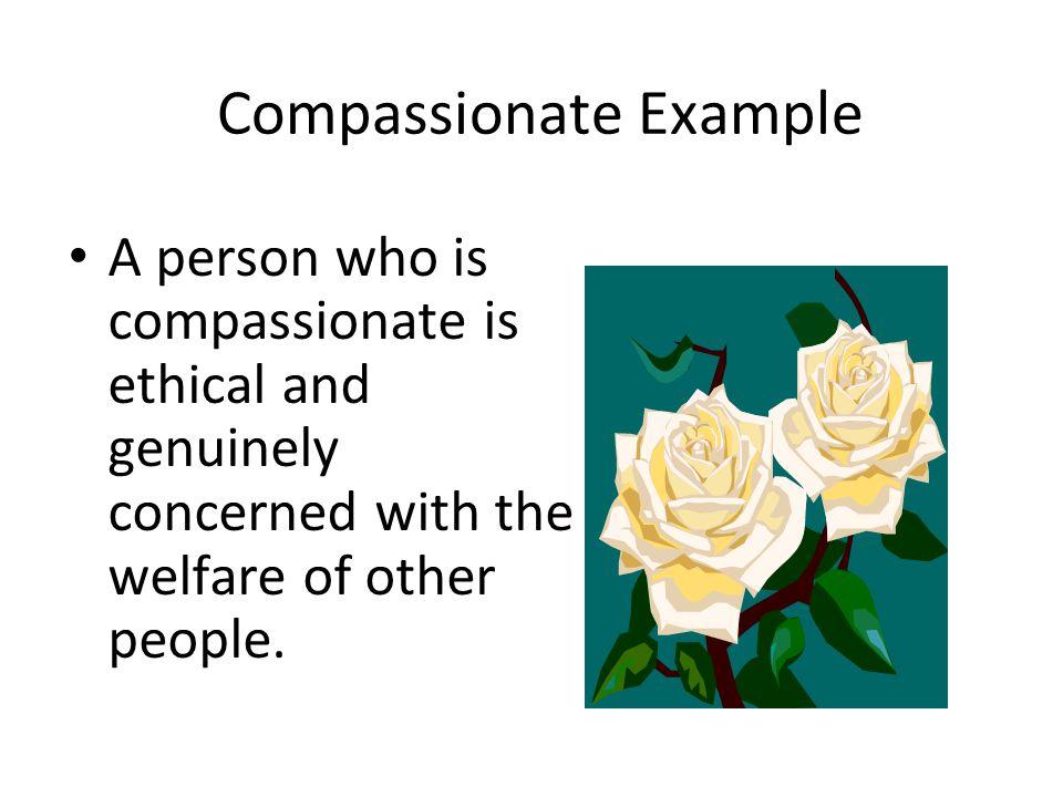 Compassionate Example