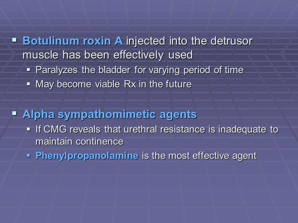 Alpha sympathomimetic agents