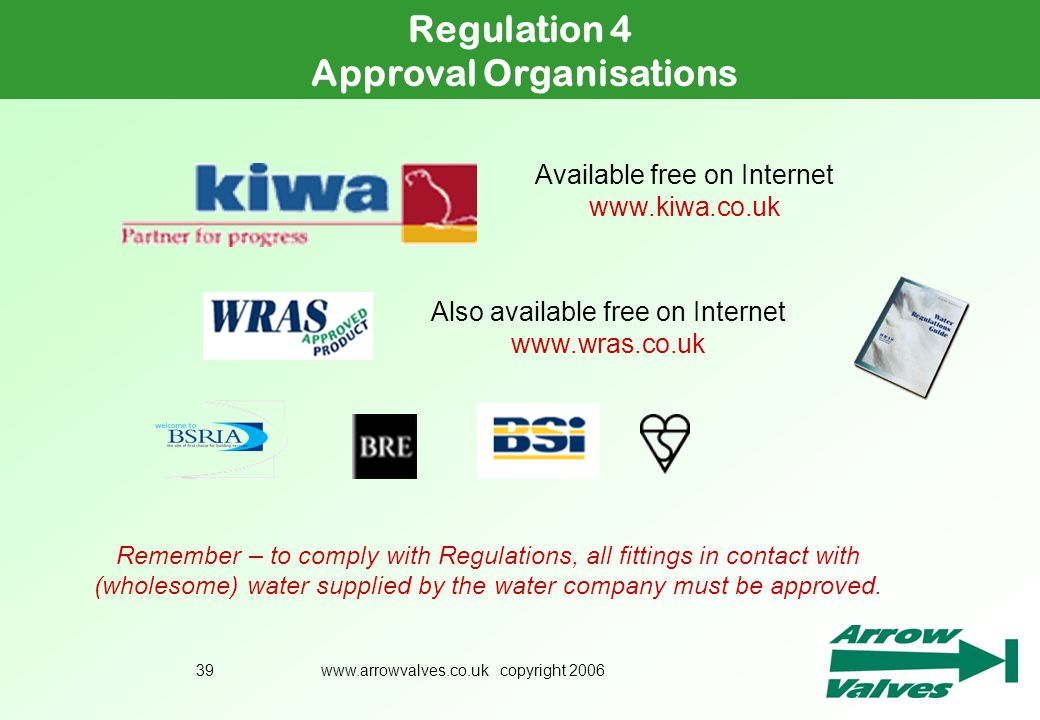 Approval Organisations