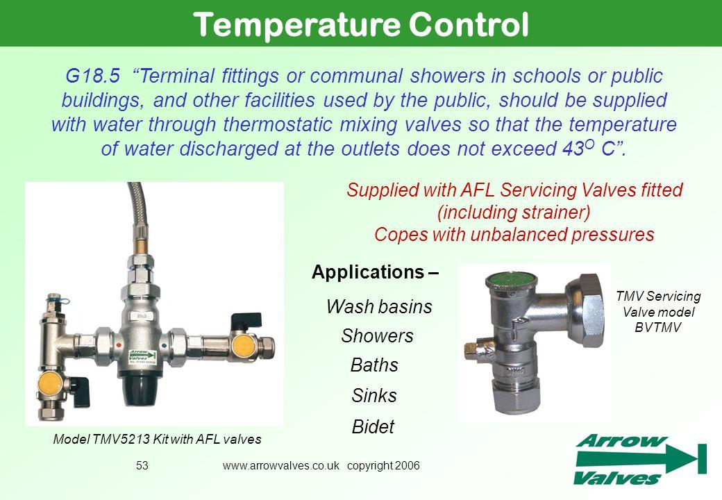 Temperature Control July 2005.