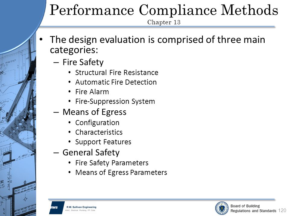 Performance Compliance Methods Chapter 13