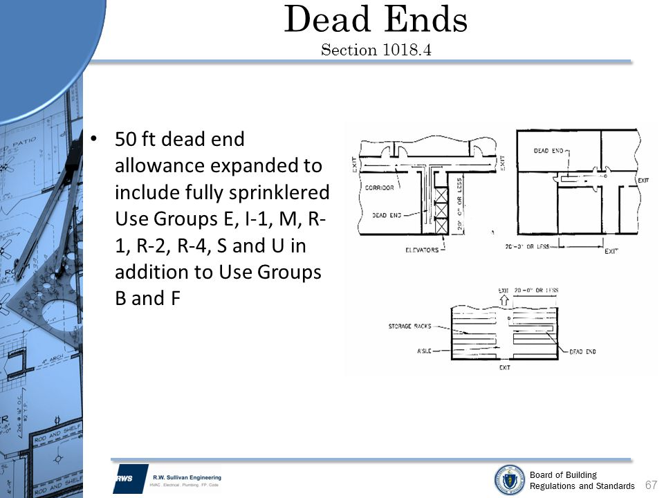 Dead Ends Section 1018.4
