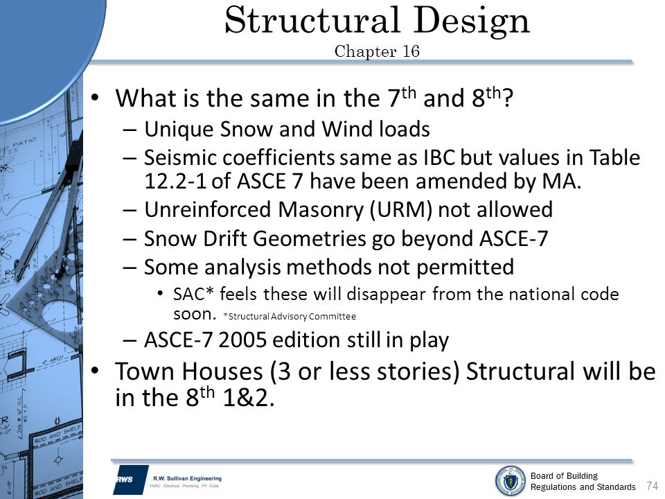 Structural Design Chapter 16