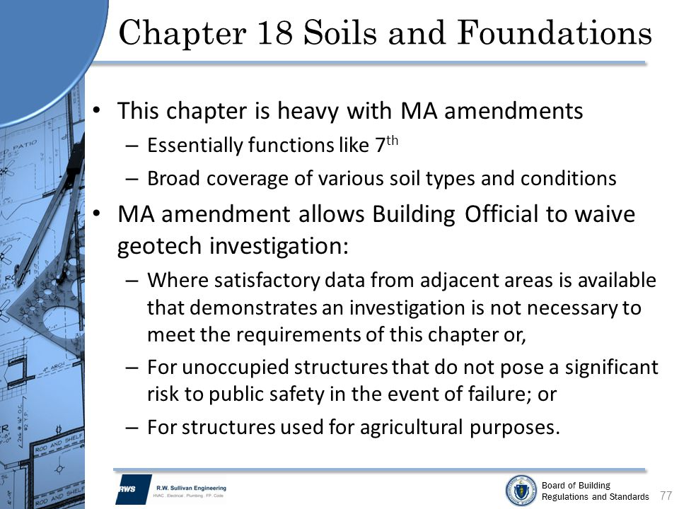 Chapter 18 Soils and Foundations