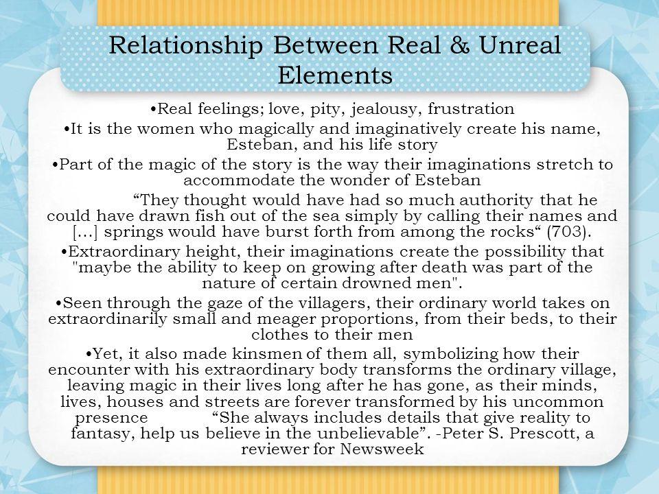 Relationship Between Real & Unreal Elements