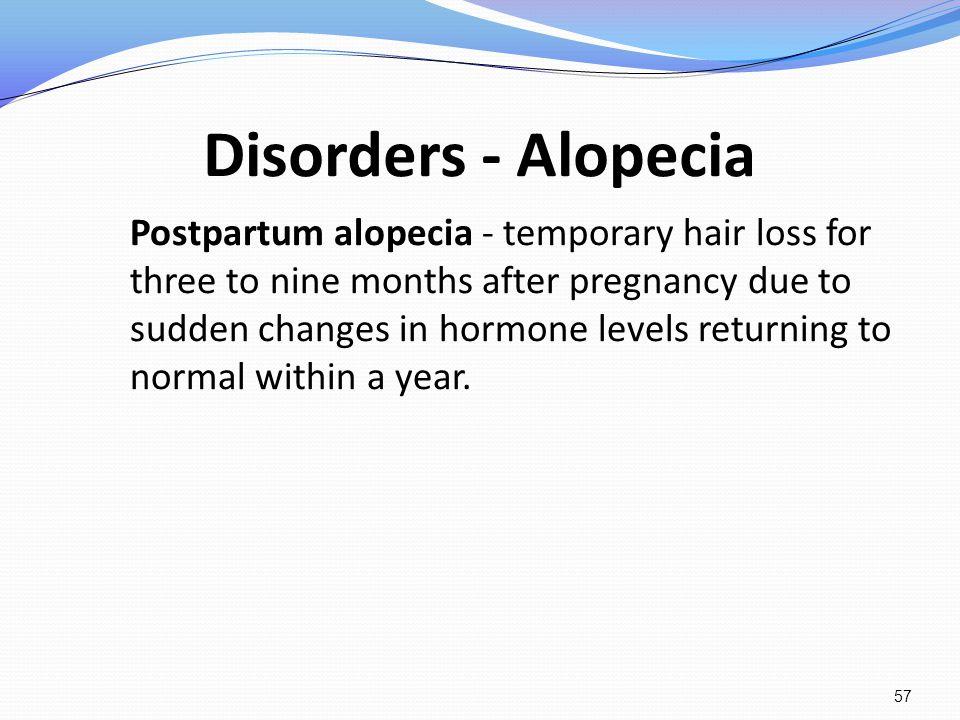Disorders - Alopecia