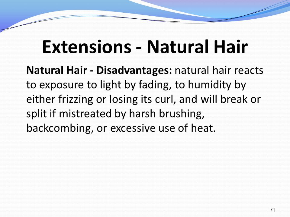 Extensions - Natural Hair