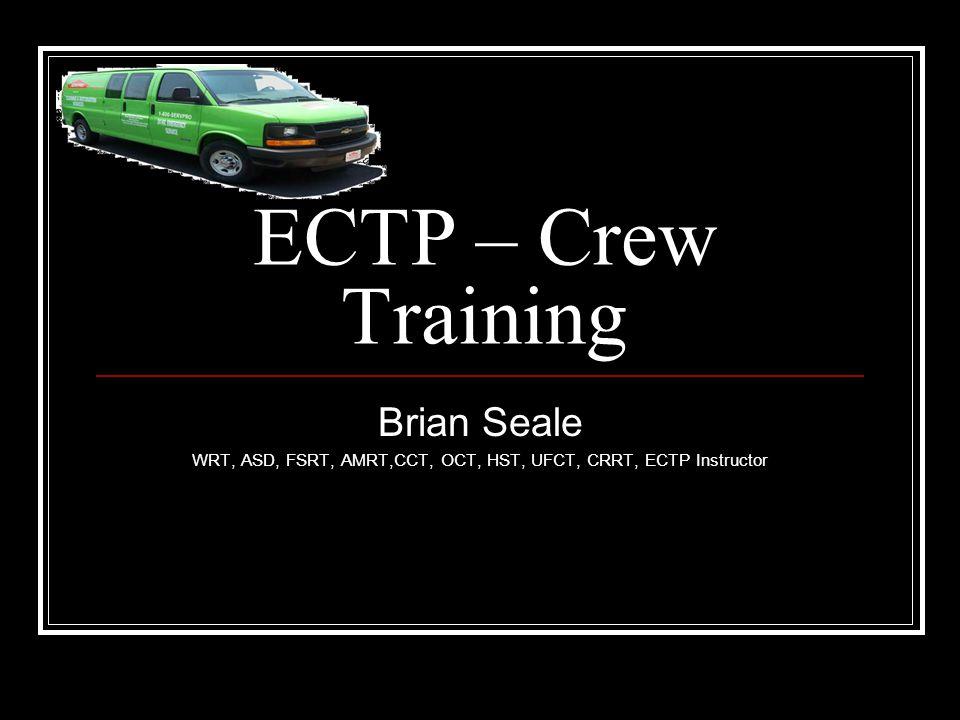 WRT, ASD, FSRT, AMRT,CCT, OCT, HST, UFCT, CRRT, ECTP Instructor
