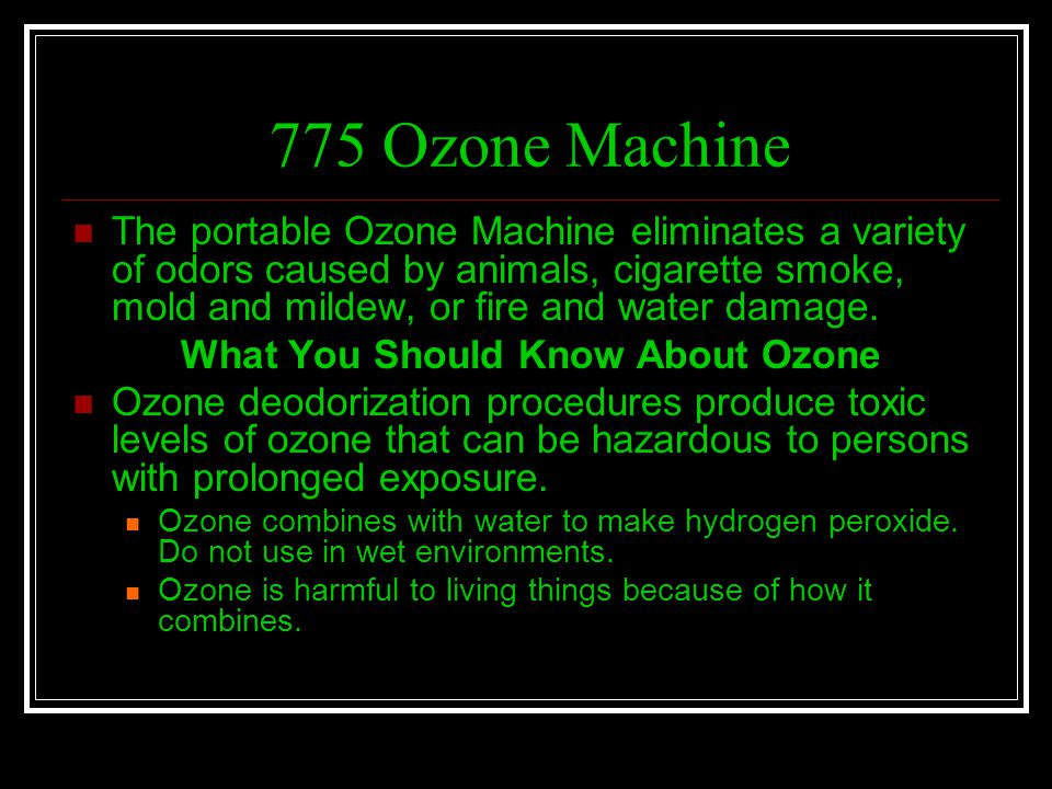 What You Should Know About Ozone