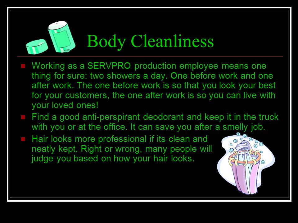 Body Cleanliness