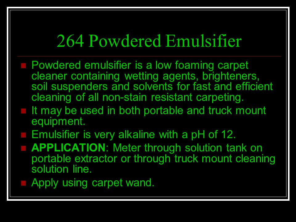 264 Powdered Emulsifier