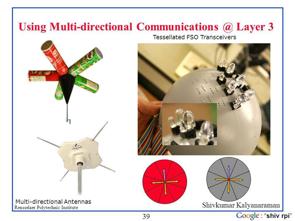 Using Multi-directional Communications @ Layer 3