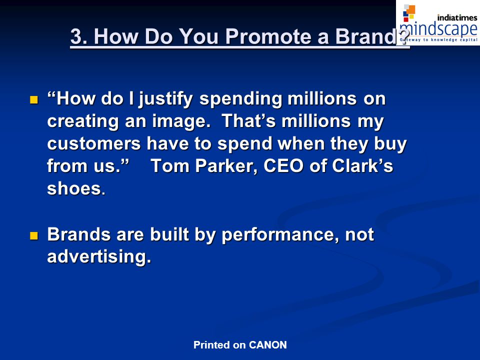 3. How Do You Promote a Brand