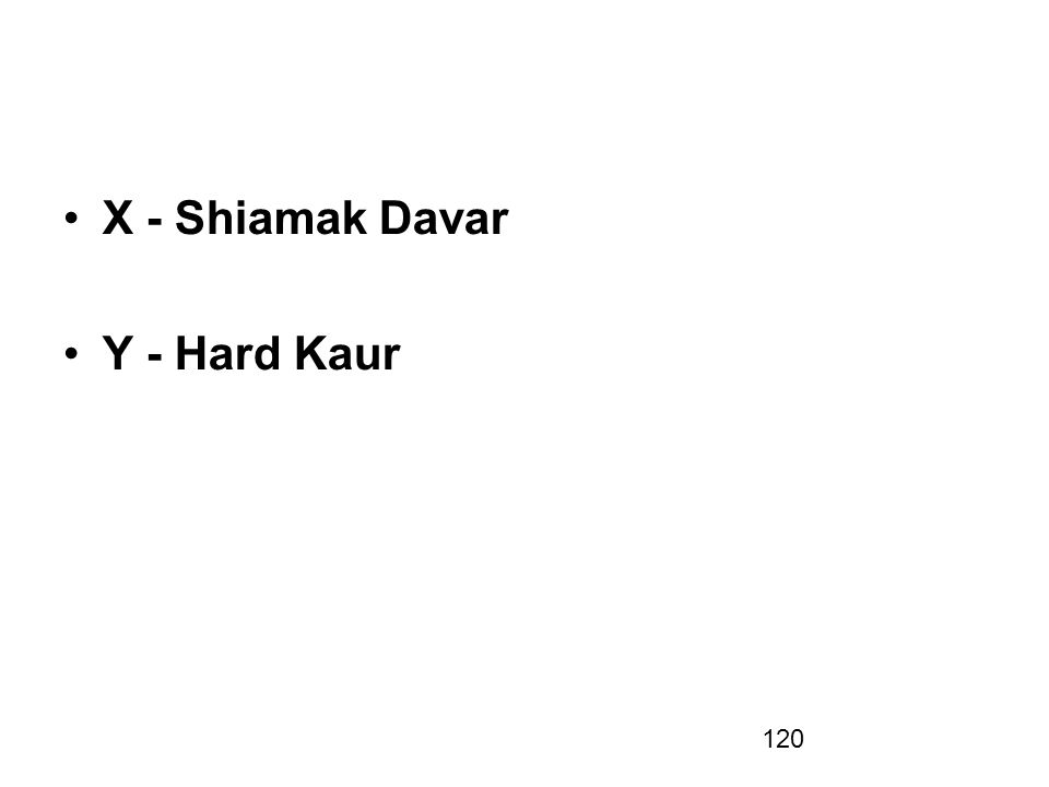 X - Shiamak Davar Y - Hard Kaur