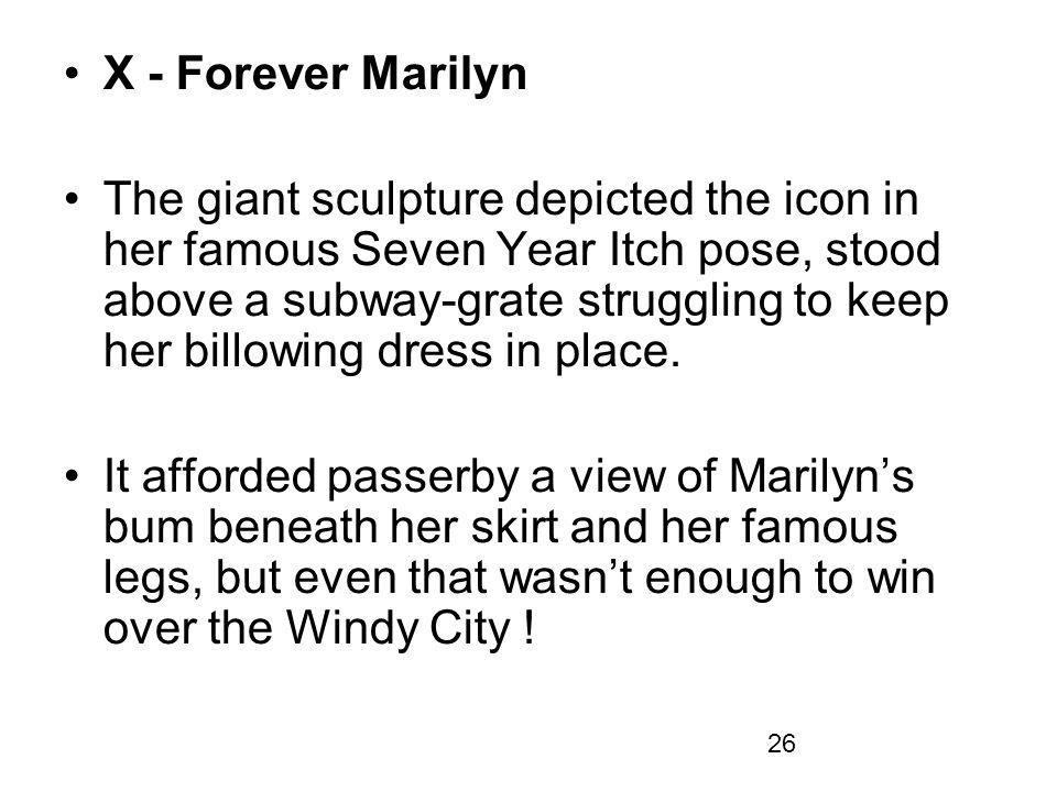 X - Forever Marilyn