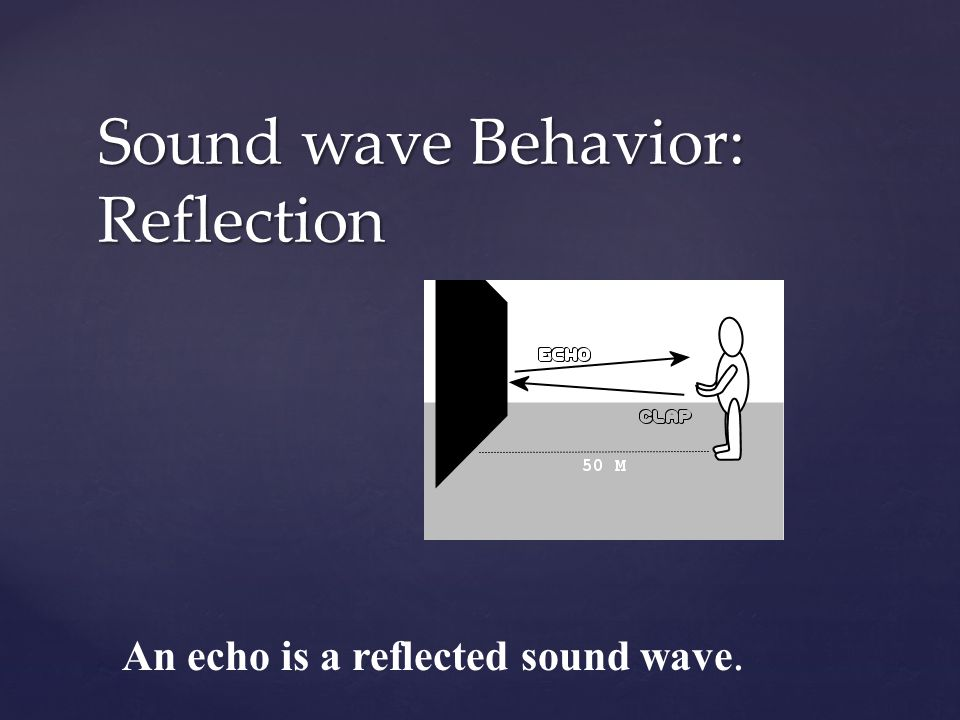 Sound wave Behavior: Reflection
