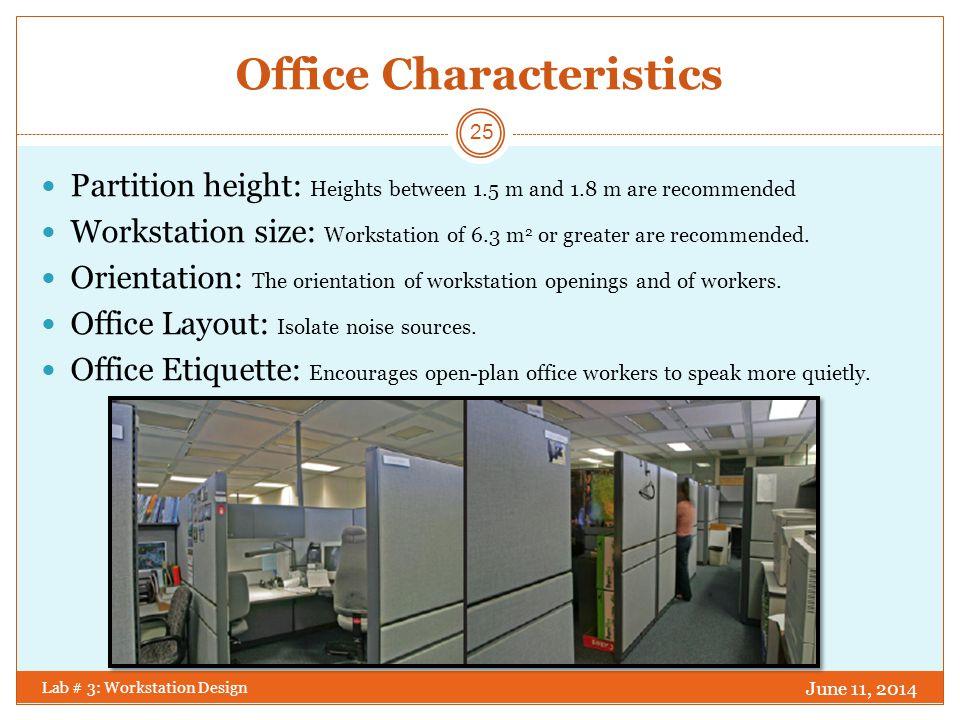 Office Characteristics