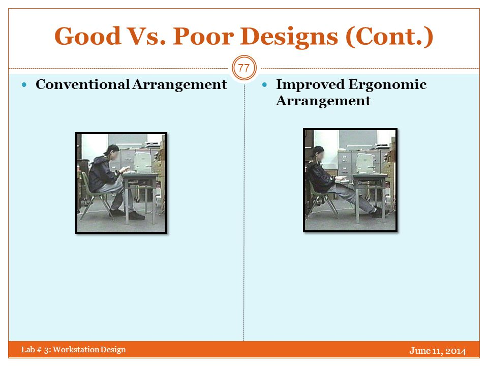 Good Vs. Poor Designs (Cont.)