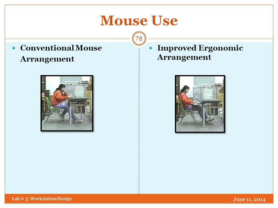Mouse Use Conventional Mouse Arrangement