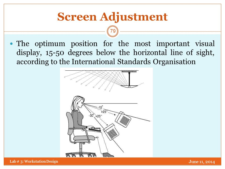 Screen Adjustment