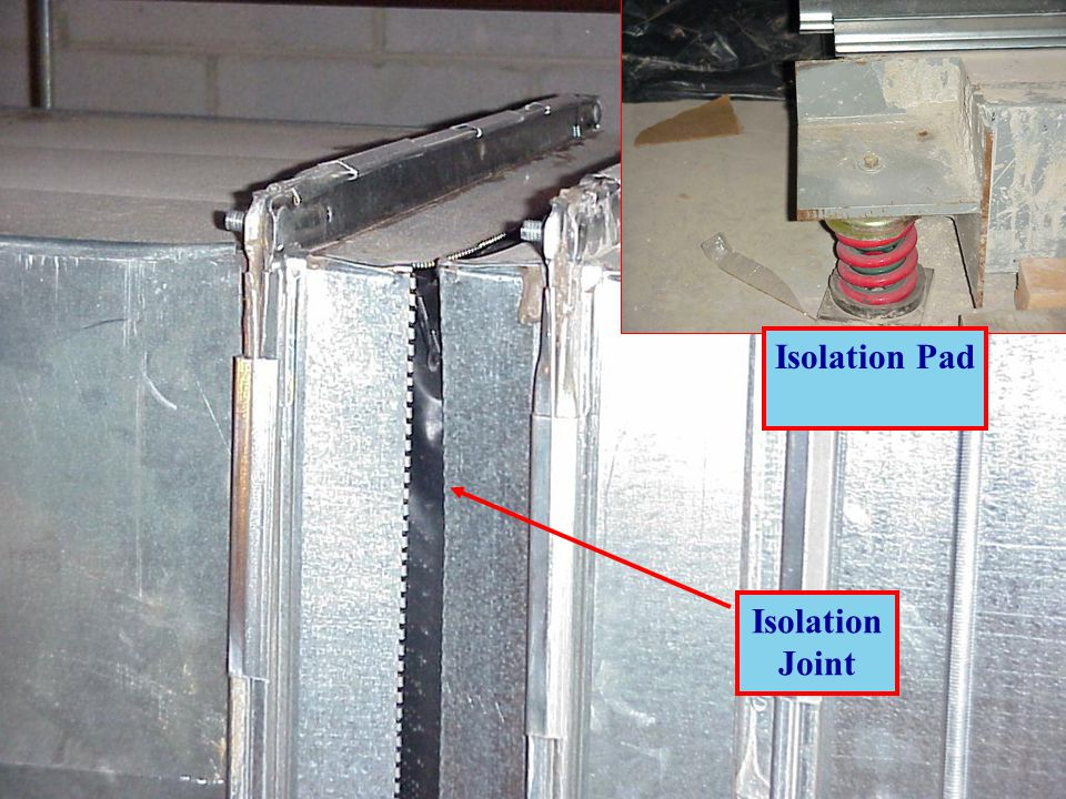 Isolation Pad Isolation Joint